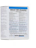 Belacol 100 % Compactate, 1 000 mg/g granulės naudoti su geriamuoju vandeniu galvijams, kiaulėms ir vištoms