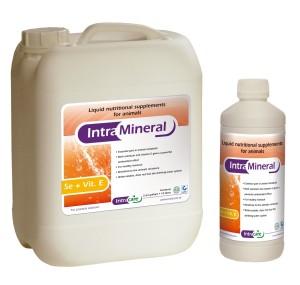 Intra Mineral Se + Vit E, pašarų priedas, geriamasis tirpalas
