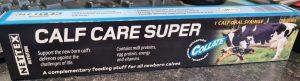 CALF CARE SUPER, pašaro papildas veršeliams, geriamoji pasta
