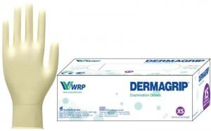 DERMAGRIP latekso apžiūros pirštinės