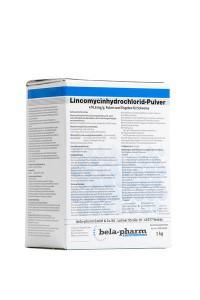 LINCOMYCINHYDROCHLORID–PULVER, 470,6 mg/g, geriamieji milteliai kiaulėms