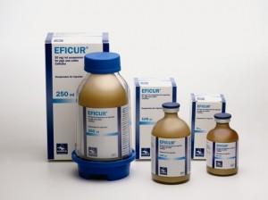 EFICUR 50 mg/ml injekcinė suspensija