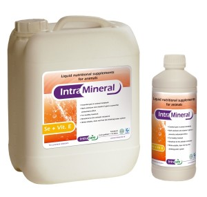 Intra Mineral Se + Vit E, pašaro papildas, geriamasis tirpalas