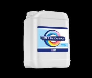 INTRA DYSOVINOL 499 mg/ml, tirpalas naudoti su geriamuoju vandeniu kiaulėms.